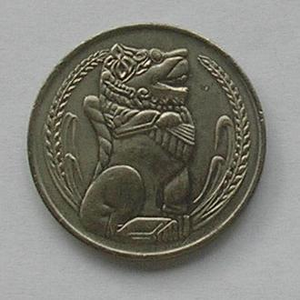 Сингапур 1 доллар 1973
