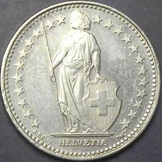 1/2 франка 2011 Швейцария