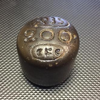 Керамическая гирька Советов 200 гр 1935 год (35)