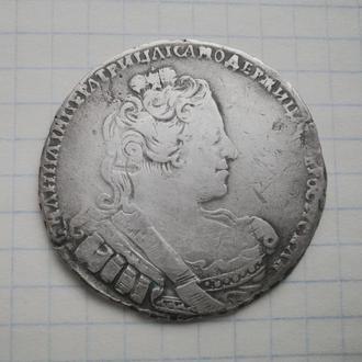Рубль 1733 год