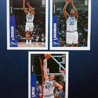 Наклейка Upper Deck, НБА 1996-1997