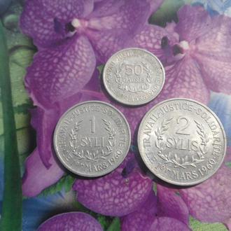 Гвинея(н/набор 1971г) 3шт