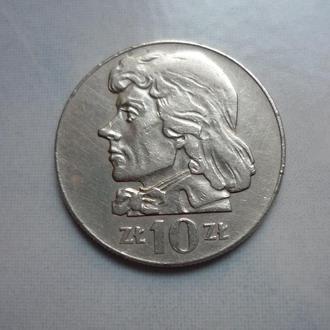 Польша 10 злотых 1970 Костюшко