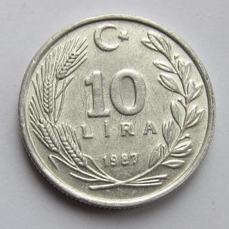 Турция 10 лир 1979 (КМ#964)