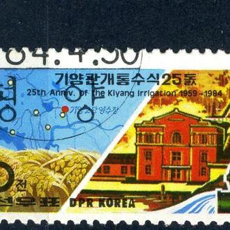КНДР. Сельское хозяйство (серия) 1984 г.
