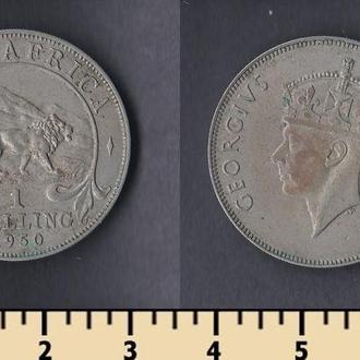 Британская Восточная Африка 1 шиллинг 1950