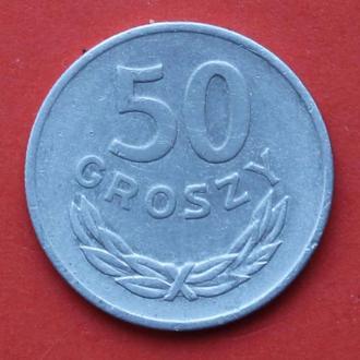 50 грошей. 1977 р. Польша.