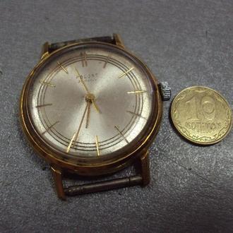 часы наручные циферблат механизм полет позолота №11