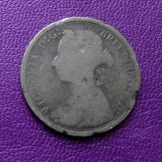 1/2 пенни 1886