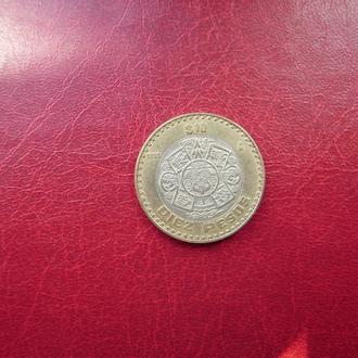 Мексика 10 песо 1998