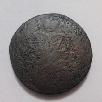 2 копейки 1758