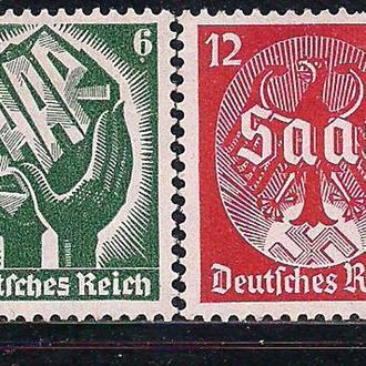 Рейх*, 1934 г., Саарский плебисцит, 13.01.1935 г