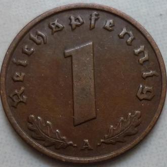 Германия 1 пфенниг 1937 A