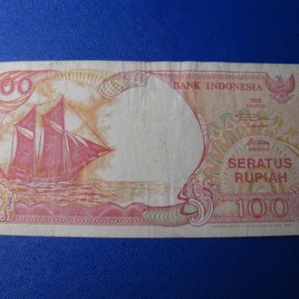 Индонезия 100 Рупий 1992