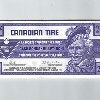 25 центов Канада  Canadian Tire