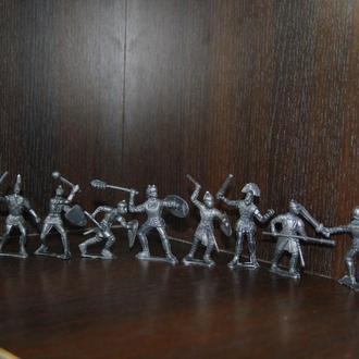рыцари греки спартанцы (Китай) 50мм ( 10 штук)