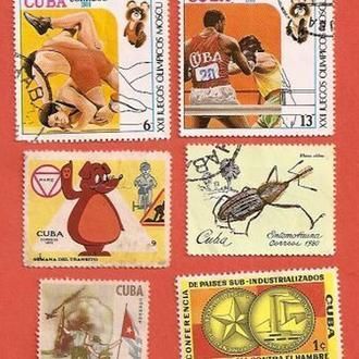 Куба Cuba  (№272)