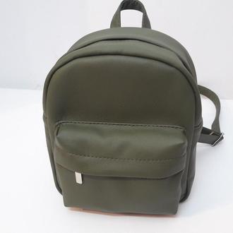 Удобный женский рюкзак хаки