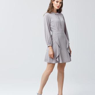 Платье с расклешенным низом 2155