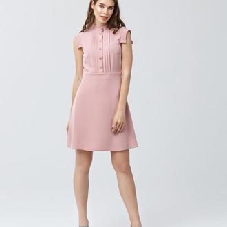 Платье с расклешенным низом 2160