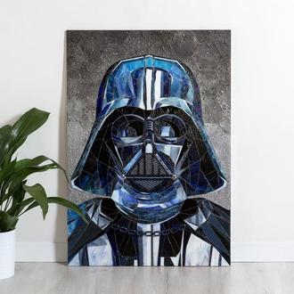Дарт Вейдер Звездные войны картина стеклянная мозаика Darth Vader Star Wars
