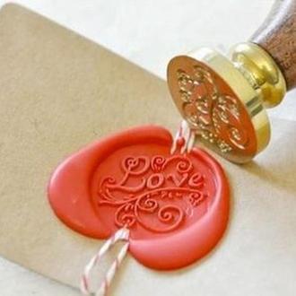 Сургуч декоративный для печатей в палочках, золото 50 г
