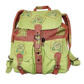 Легкий тканевый женский рюкзак