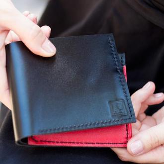 Кожаный кошелек