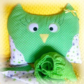 Подушка сплюшка Сова