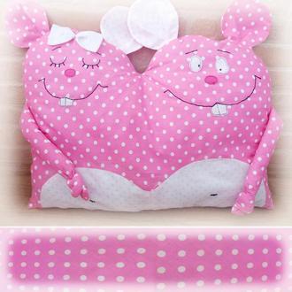 Подушка сплюшка Влюбленные мышки Закохані Мишки