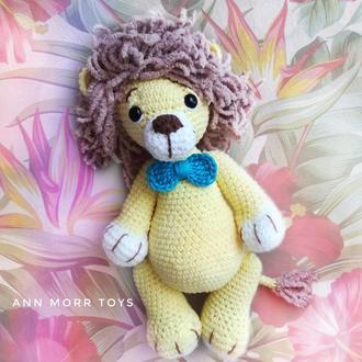 Лев,игрушка ручной работы