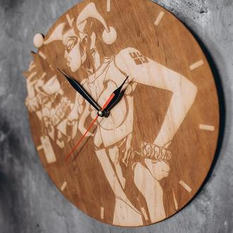 """Годинник """"Гарлі Квінн"""""""