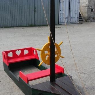 Лодка для детской площадки