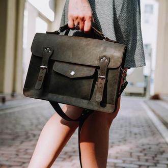 Кожаный портфель Рори