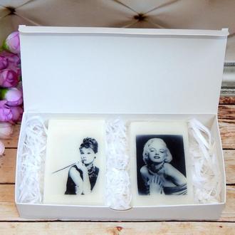 Мыло с картинками - подарочный набор