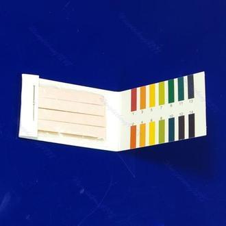 Лакмус, тест-полоски ph 1-14 для мыла, слюны 100 штук