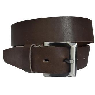 Solid 4,5см ремень коричневый классический под джинсы натуральная кожа пояс кожанный