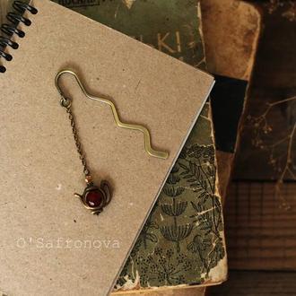 Закладка для книг Цветочный чай