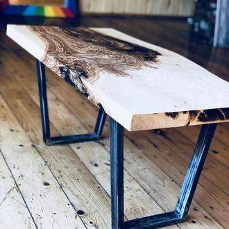 Стол из слеба