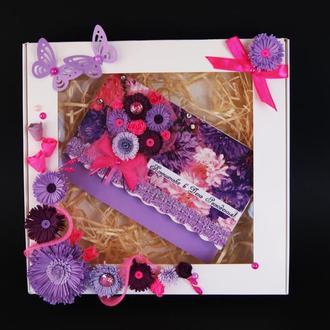 Именные открытки к Дню Рождения по индивидуальному заказу