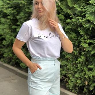 Женский шорты с карманами