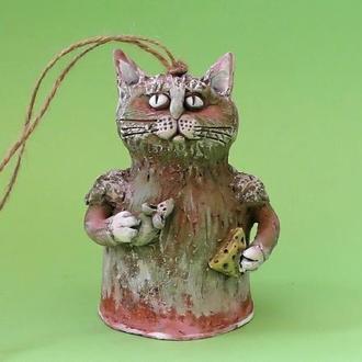 Кошка колокольчик