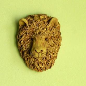 Маска Льва на стену