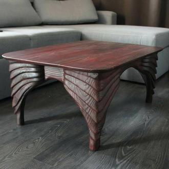 """Кофейный стол """"Драгон"""" в стиле бионика"""