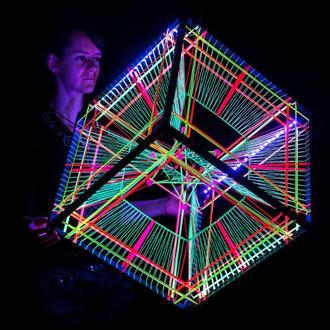 RGB Tesseract (48 cm)