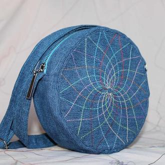 Джинсовая сумочка.