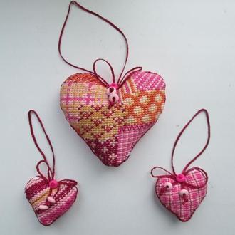 Сердечка ручної роботи / День святого Валентина