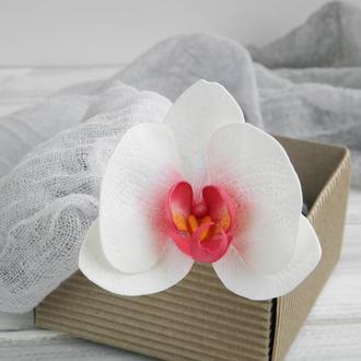 Шпильки Орхидея, Свадебные шпильки, Шпильки с цветами