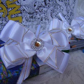 Резинки Нарядные эксклюзивные  в стиле канзаши