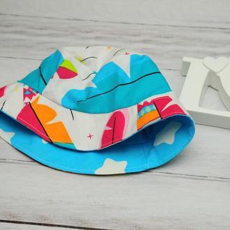Детские кепки и панамки